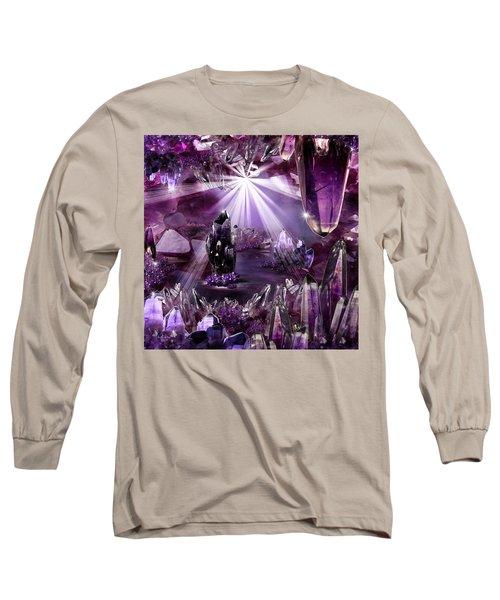 Amethyst Dreams Long Sleeve T-Shirt