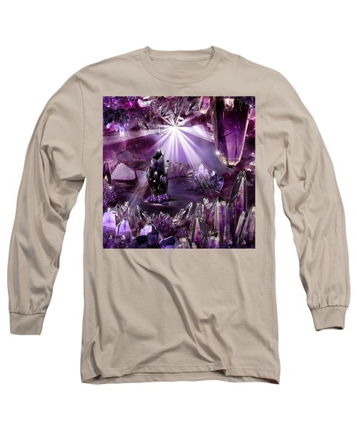 Amethyst Dreams Long Sleeve T-Shirt