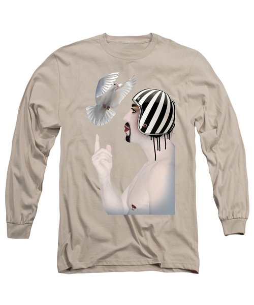 Amir Fun  Long Sleeve T-Shirt by Mark Ashkenazi