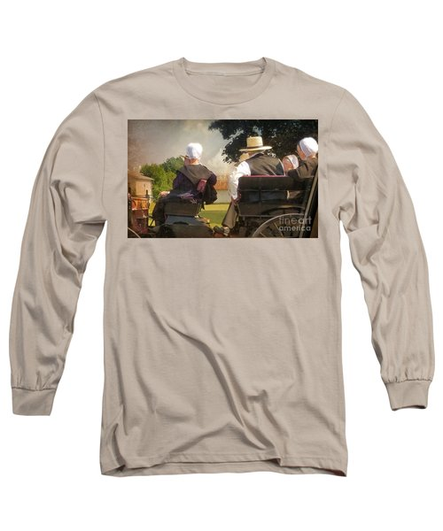 Amish Travelling Long Sleeve T-Shirt