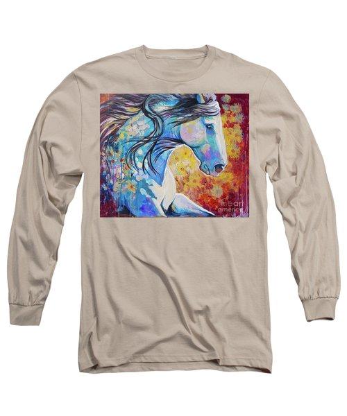 Among The Wildflowers Long Sleeve T-Shirt