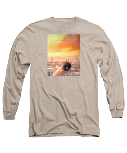 Amore Di Firenze Love Of Florence Long Sleeve T-Shirt