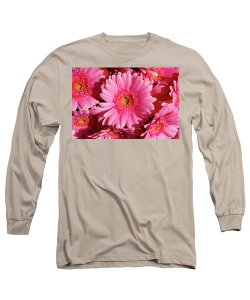 Long Sleeve T-Shirt featuring the photograph Amsterdam In Pink by KG Thienemann
