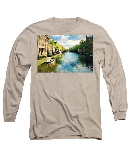 Amsterdam Waterways Long Sleeve T-Shirt