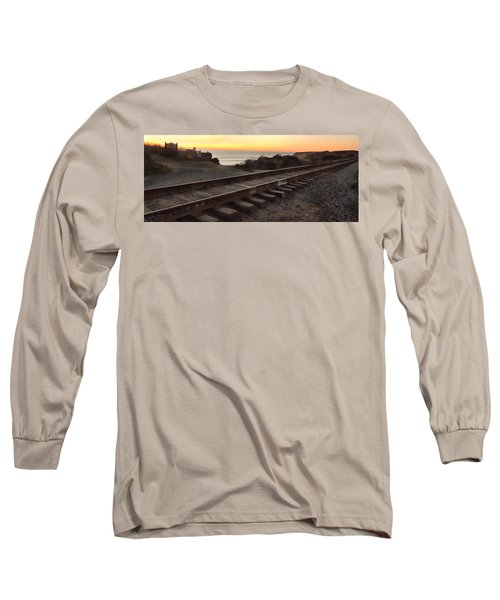 Amtrak On The Pacific Long Sleeve T-Shirt