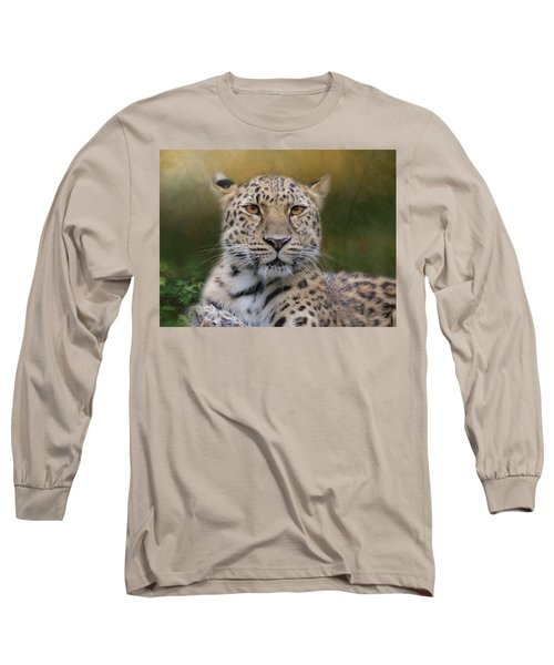 Amur Leopard Long Sleeve T-Shirt