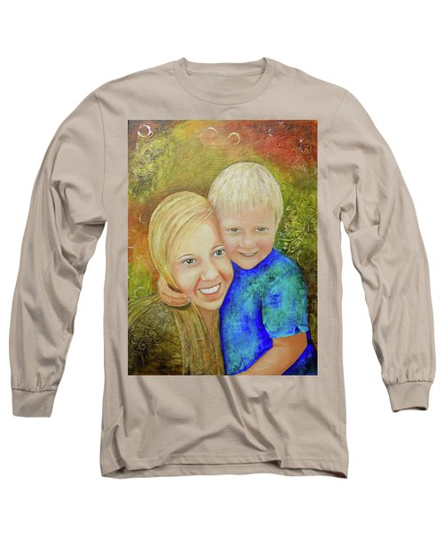 Amy's Kids Long Sleeve T-Shirt by Terry Honstead