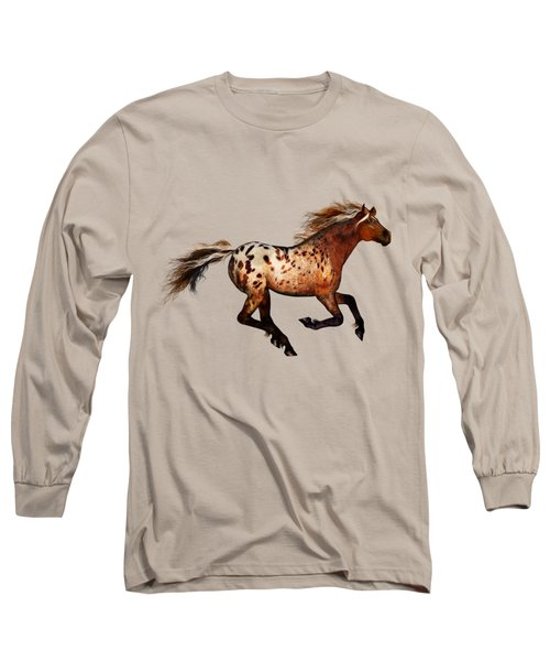 An Appaloosa Called Ginger Long Sleeve T-Shirt