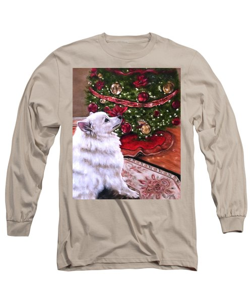 An Eskie Christmas Long Sleeve T-Shirt