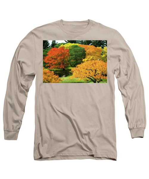 An Explosion Of Color Long Sleeve T-Shirt