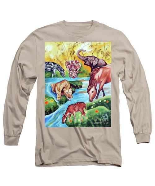 An Unity Long Sleeve T-Shirt