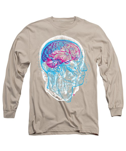 Anatomy Skull Long Sleeve T-Shirt