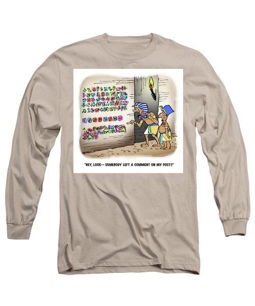 Ancient Egyptian Blog Long Sleeve T-Shirt