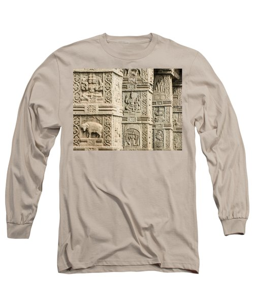 Ancient Temple Carvings Long Sleeve T-Shirt