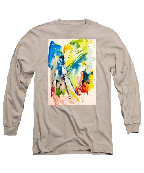 Angel Long Sleeve T-Shirt by Amara Dacer