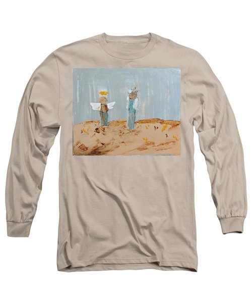 Angels Taking Care Of E Long Sleeve T-Shirt