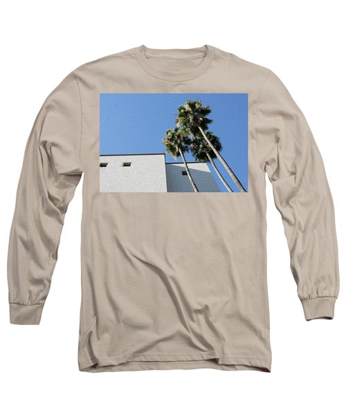 Angles And 3 Palm Tress Long Sleeve T-Shirt