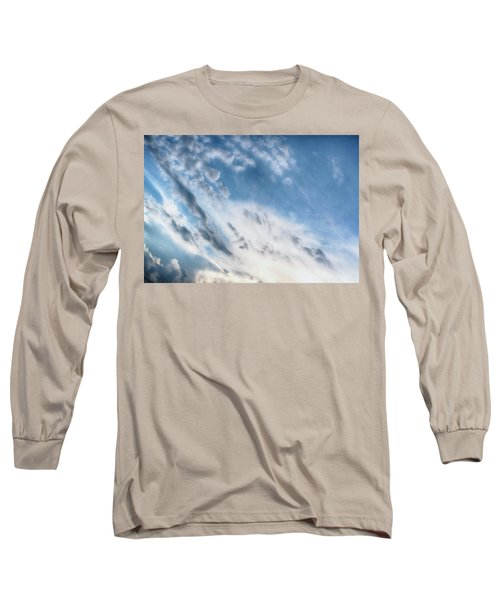 Long Sleeve T-Shirt featuring the photograph Angry Clouds by Susan Stone