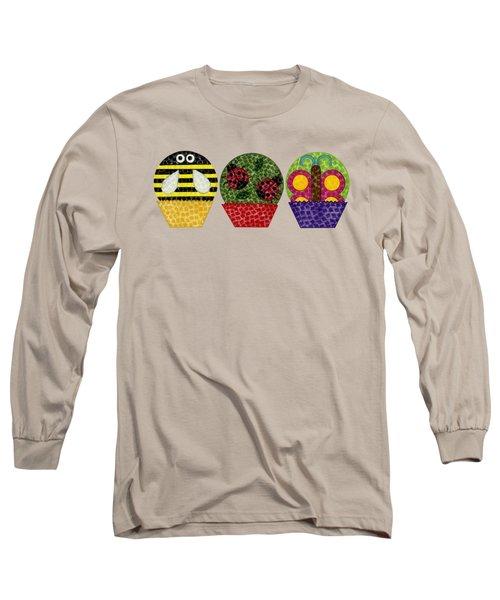 Animal Cupcakes 1 Long Sleeve T-Shirt