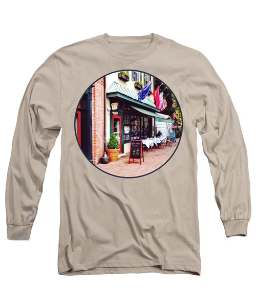 Annapolis Md - Restaurant On State Circle Long Sleeve T-Shirt