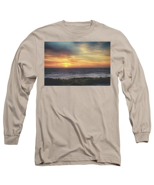 Another Goodbye Long Sleeve T-Shirt by Laurie Search