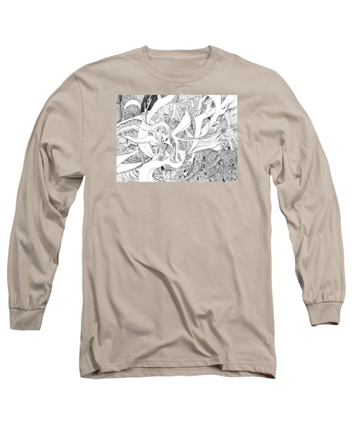 Another Kind Of Peace Long Sleeve T-Shirt by Charles Cater