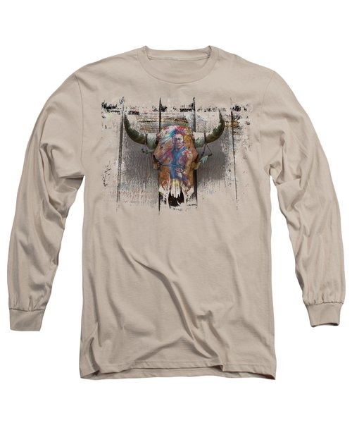 Another Time 2 Long Sleeve T-Shirt by John M Bailey