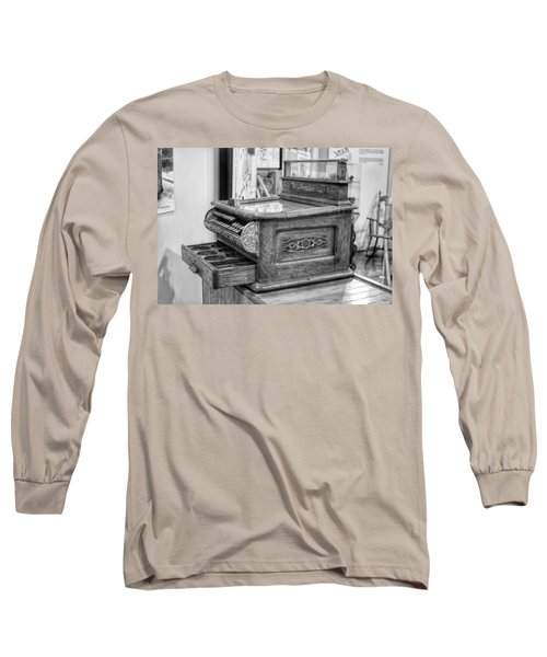 Antique Cash Register Long Sleeve T-Shirt