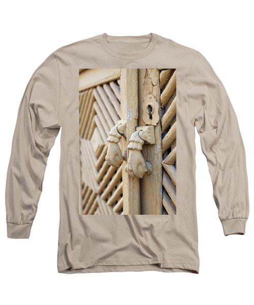 Antique Mediterranean Door-knocker Long Sleeve T-Shirt