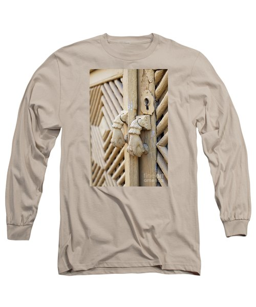 Antique Mediterranean Door-knocker Long Sleeve T-Shirt