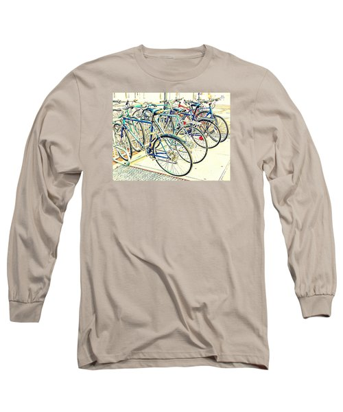 Anyone For A Ride? Long Sleeve T-Shirt