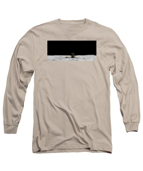 Apollo 16 Landing Site Panorama Long Sleeve T-Shirt