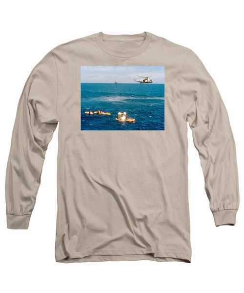 Apollo Command Module Splashdown Long Sleeve T-Shirt