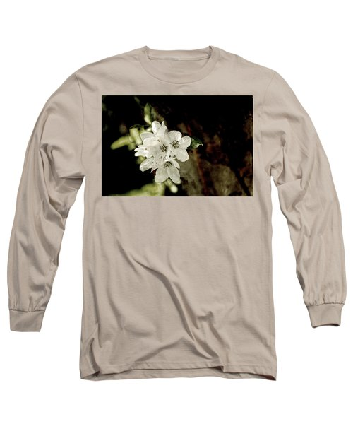 Apple Blossom Paper Long Sleeve T-Shirt