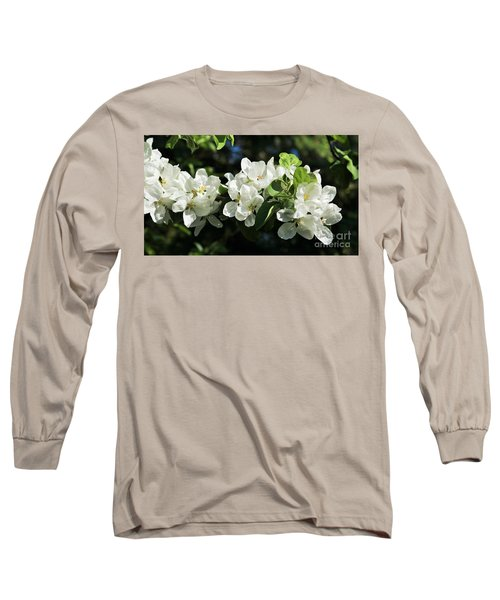 Apple Blossoms 2017 Long Sleeve T-Shirt by Marjorie Imbeau