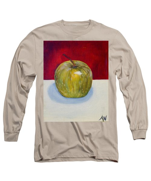 Apple Study Long Sleeve T-Shirt