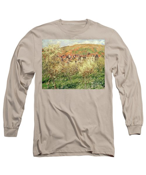 Apple Trees In Blossom Long Sleeve T-Shirt