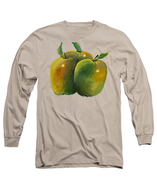 Apple Trio Long Sleeve T-Shirt