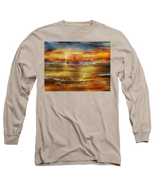Approaching Novigrad Long Sleeve T-Shirt