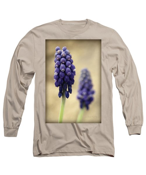 Long Sleeve T-Shirt featuring the photograph April Indigo by Chris Berry