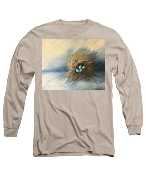 April Nest Long Sleeve T-Shirt by Torrie Smiley