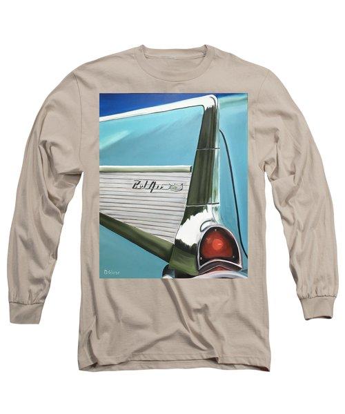 Aqua Fin Long Sleeve T-Shirt