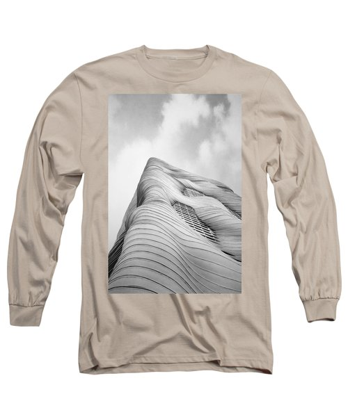 Aqua Tower Long Sleeve T-Shirt