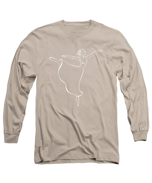 Arabesque Ballerina Long Sleeve T-Shirt