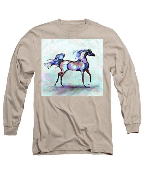 Arabian Horse Overlook Long Sleeve T-Shirt