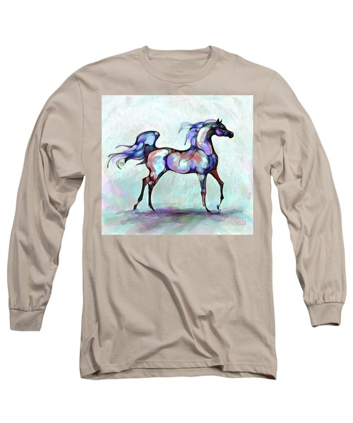 Arabian Horse Overlook Long Sleeve T-Shirt
