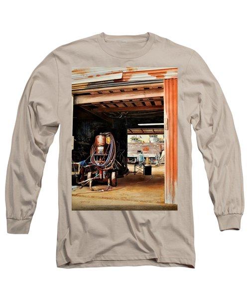 Aransas Pass Boatyard Long Sleeve T-Shirt