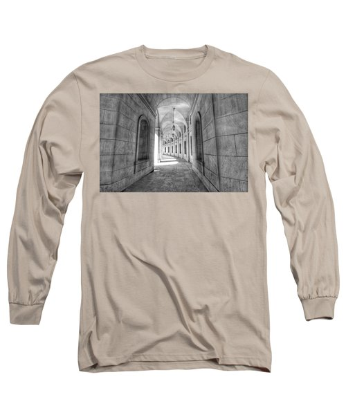 Arched Long Sleeve T-Shirt