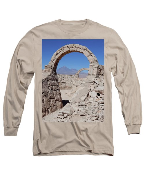 Pukara De Quitor Arches Long Sleeve T-Shirt