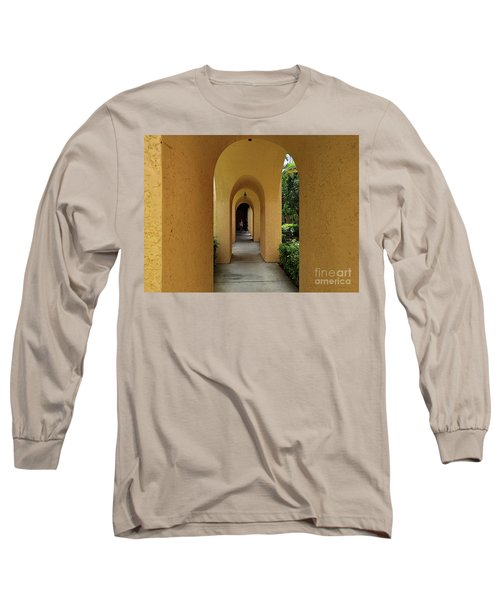 Long Sleeve T-Shirt featuring the photograph Archway by Gary Wonning